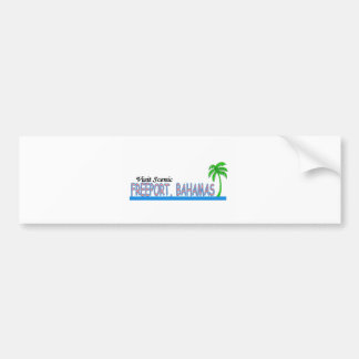 Visit Scenic Freeport, Bahamas Bumper Stickers