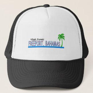 Visit Scenic Freeport, Bahamas Trucker Hat