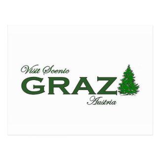 Visit Scenic Graz Postcard