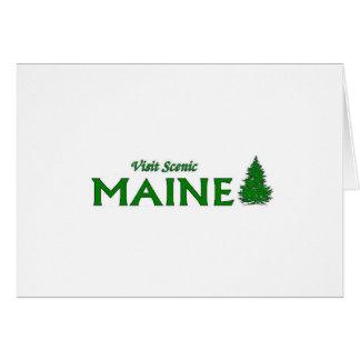 Visit Scenic Maine Card