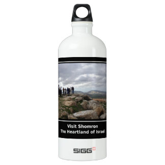 Visit Shomron Aluminum Water Bottle