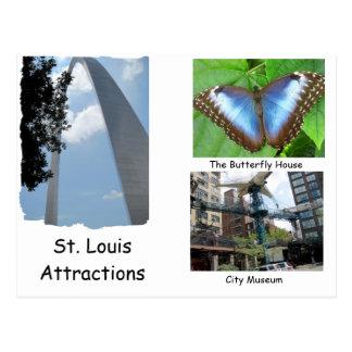 Visit St.  Louis. Postcard