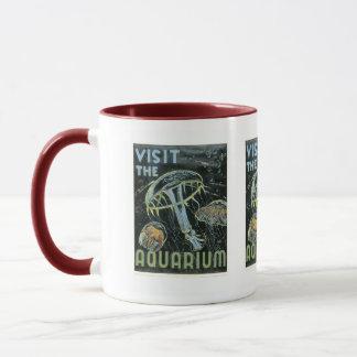 Visit the Aquarium - WPA Poster - Mug