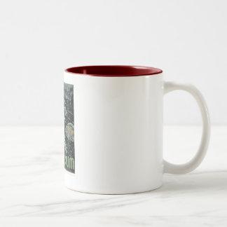 Visit the Aquarium - WPA Poster - Two-Tone Coffee Mug