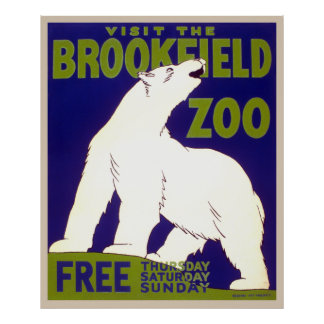 Visit the Brookfield Zoo free Thursday, Saturday, Print