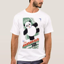 Visit the Brookfield Zoo Vintage WPA t shirt