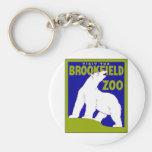 Visit the Brookfield Zoo ~ Vintage Zoo Keychains