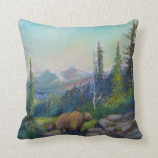 Visit the High Places Throw Pillow