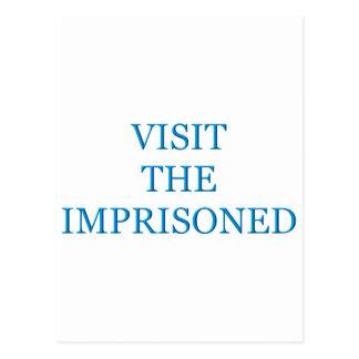 Visit the imprisoned post card