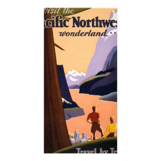 Visit the Pacific Northwest Wonderland... Card