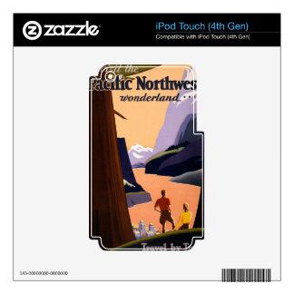 Visit the Pacific Northwest Wonderland... iPod Touch 4G Skin