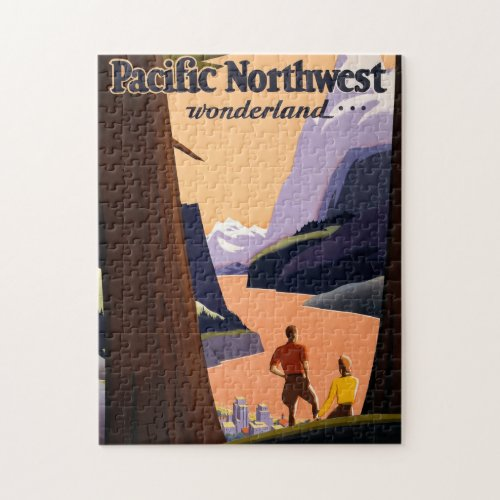 Visit the Pacific Northwest Wonderland Jigsaw Puzzle