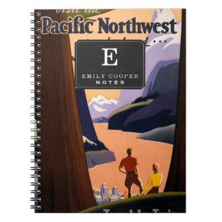 Visit the Pacific Northwest Wonderland... Notebook