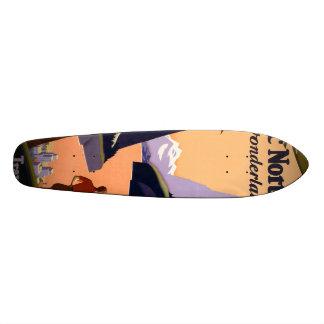Visit the Pacific Northwest Wonderland... Skateboard Deck