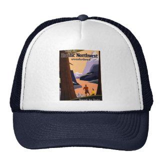 Visit the Pacific Northwest Wonderland... Trucker Hat
