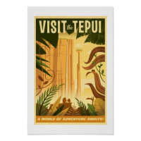 Visit the Tepui! - Disney Pixar UP Movie poster