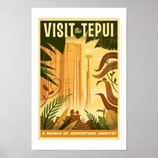 Visit the Tepui! - Disney Pixar UP Movie poster