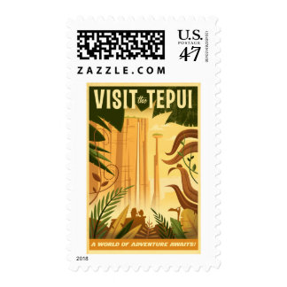 Visit the Tepui! - Disney Pixar UP Movie poster Postage