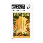 Visit the Tepui! - Disney Pixar UP Movie poster Postage Stamp
