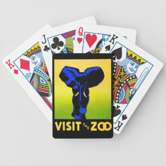 Visit The Zoo! Bicycle Playing Cards