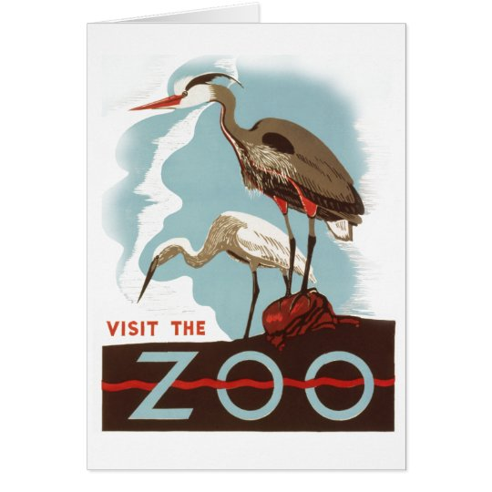 Visit the Zoo Card