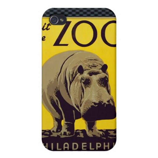 Visit The Zoo!! Cover For iPhone 4