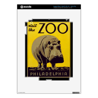 Visit The Zoo!! iPad 3 Decal