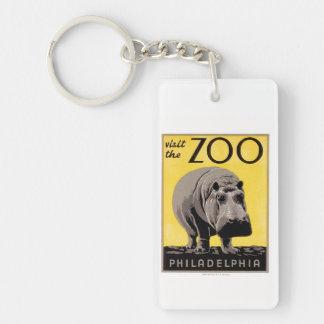 Visit The Zoo Keychain