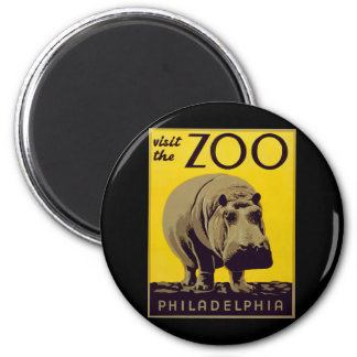 Visit The Zoo!! Magnet