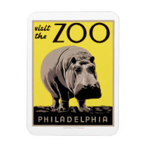 Visit The Zoo Magnet