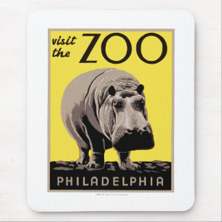 Visit The Zoo Mouse Pad