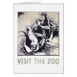 Visit The Zoo Penguin 1936 WPA