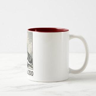 Visit the Zoo - WPA Poster - Two-Tone Coffee Mug