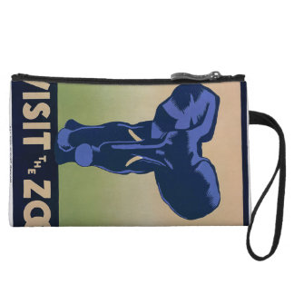 Visit the Zoo Wristlet Wallet