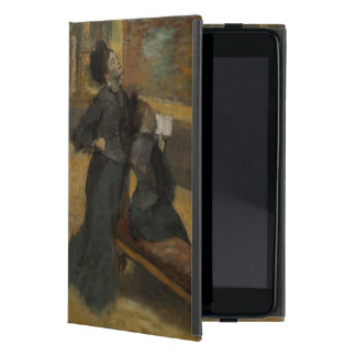 Visit to a Museum by Edgar Degas Cover For iPad Mini