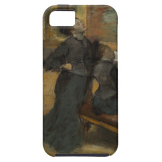 Visit to a Museum by Edgar Degas iPhone SE/5/5s Case