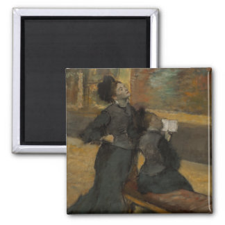 Visit to a Museum by Edgar Degas Magnet