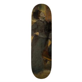 Visit to a Museum by Edgar Degas Skate Board Decks
