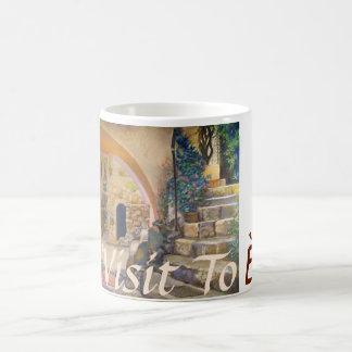 Visit To Èze Coffee Mug