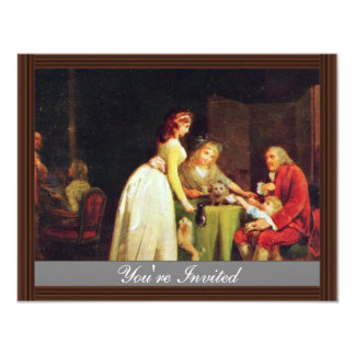 Visit To Grandfather By Boilly Louis-Léopold (Best Personalized Announcement