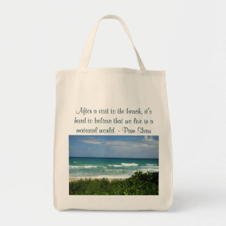 visit to the beach bag