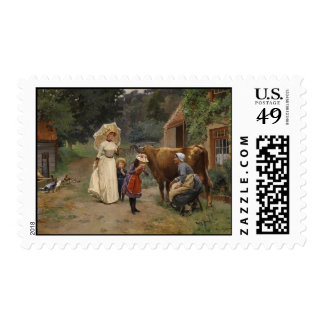 Visit to the Farm Postage