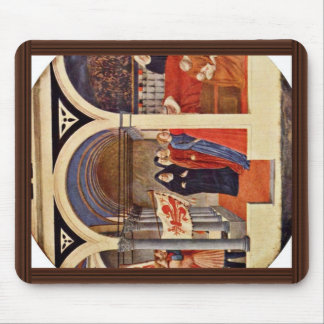 Visit To The Nursery Tondo By Masaccio (Best Quali Mousepads
