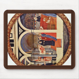 Visit To The Nursery Tondo By Masaccio (Best Quali Mouse Pad