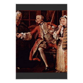 """Visit To The Quack Detail """" By Hogarth William Posters"""