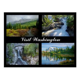 Visit Washington postcard