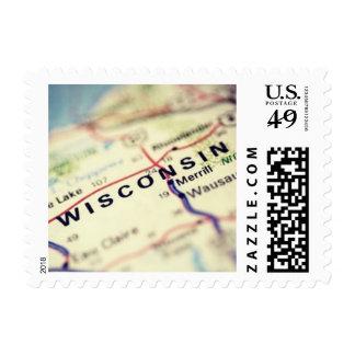 Visit Wisconsin Postage
