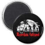 Visit Zombie Island Magnet