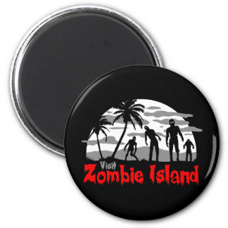 Visit Zombie Island Magnet