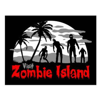 Visit Zombie Island Postcard